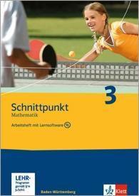 Schnittpunkt Mathematik, Realschule Baden-Württemberg: Bd.3 Klasse 7, Arbeitsheft  (auch für Berlin, Brandenburg, Mecklenburg-Vopommern u. Sachsen-Anhalt) m. CD-ROM