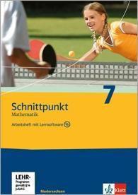 Schnittpunkt Mathematik, Realschule Niedersachsen, Neubearbeitung: 7. Schuljahr, Arbeitsheft m. CD-ROM