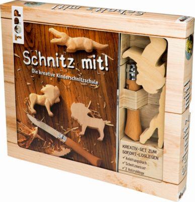 Schnitz mit!, Kreativ-Set, Armin Täubner
