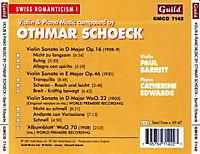 Schoeck Violinsonaten - Produktdetailbild 1