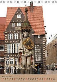 Schöne alte Hansestadt Bremen (Tischkalender 2019 DIN A5 hoch) - Produktdetailbild 12