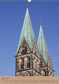 Schöne alte Hansestadt Bremen (Wandkalender 2019 DIN A3 hoch) - Produktdetailbild 7