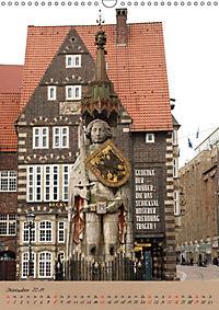 Schöne alte Hansestadt Bremen (Wandkalender 2019 DIN A3 hoch) - Produktdetailbild 12