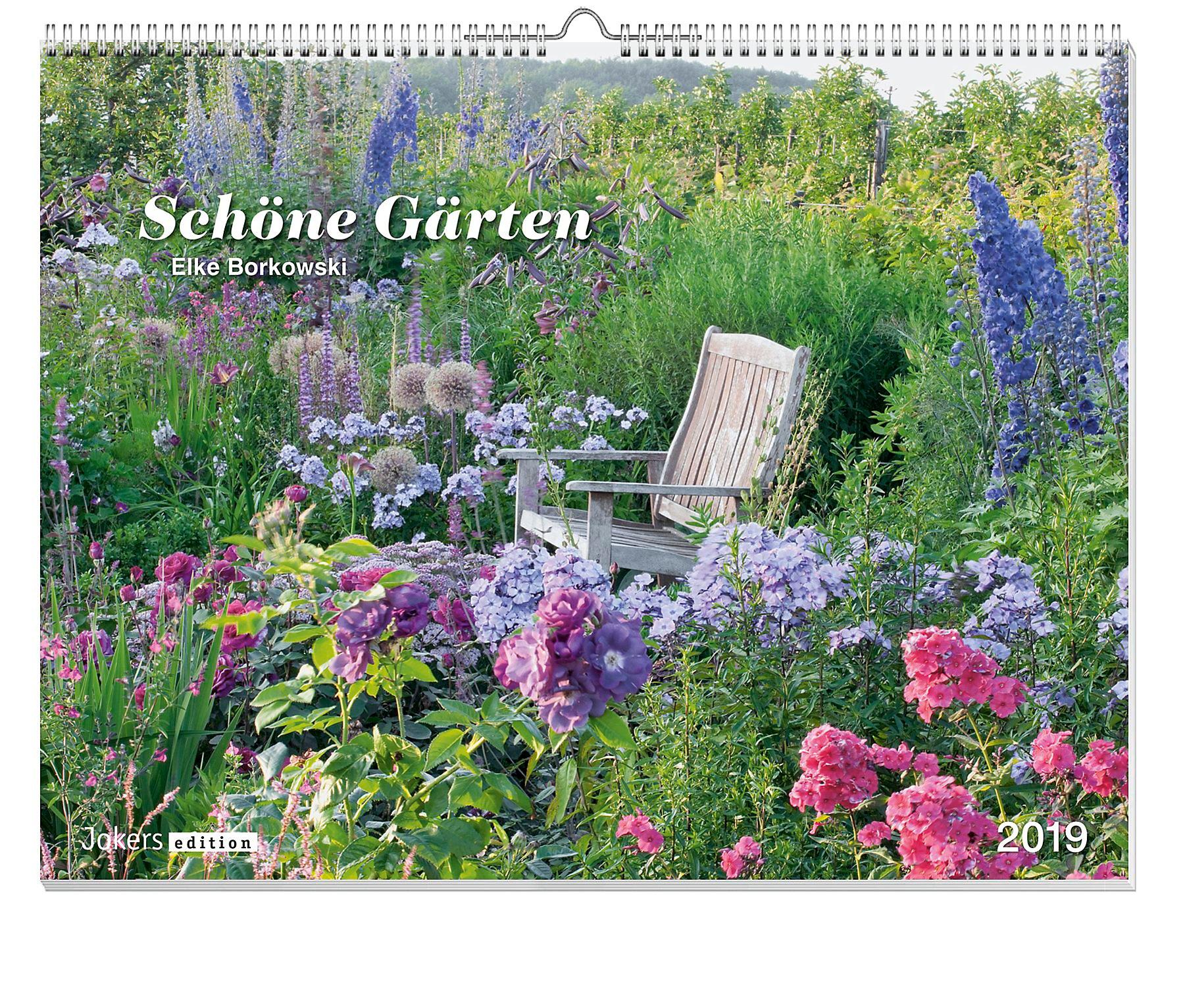 Schone Garten 2019 Kalender Gunstig Bei Weltbild De Bestellen