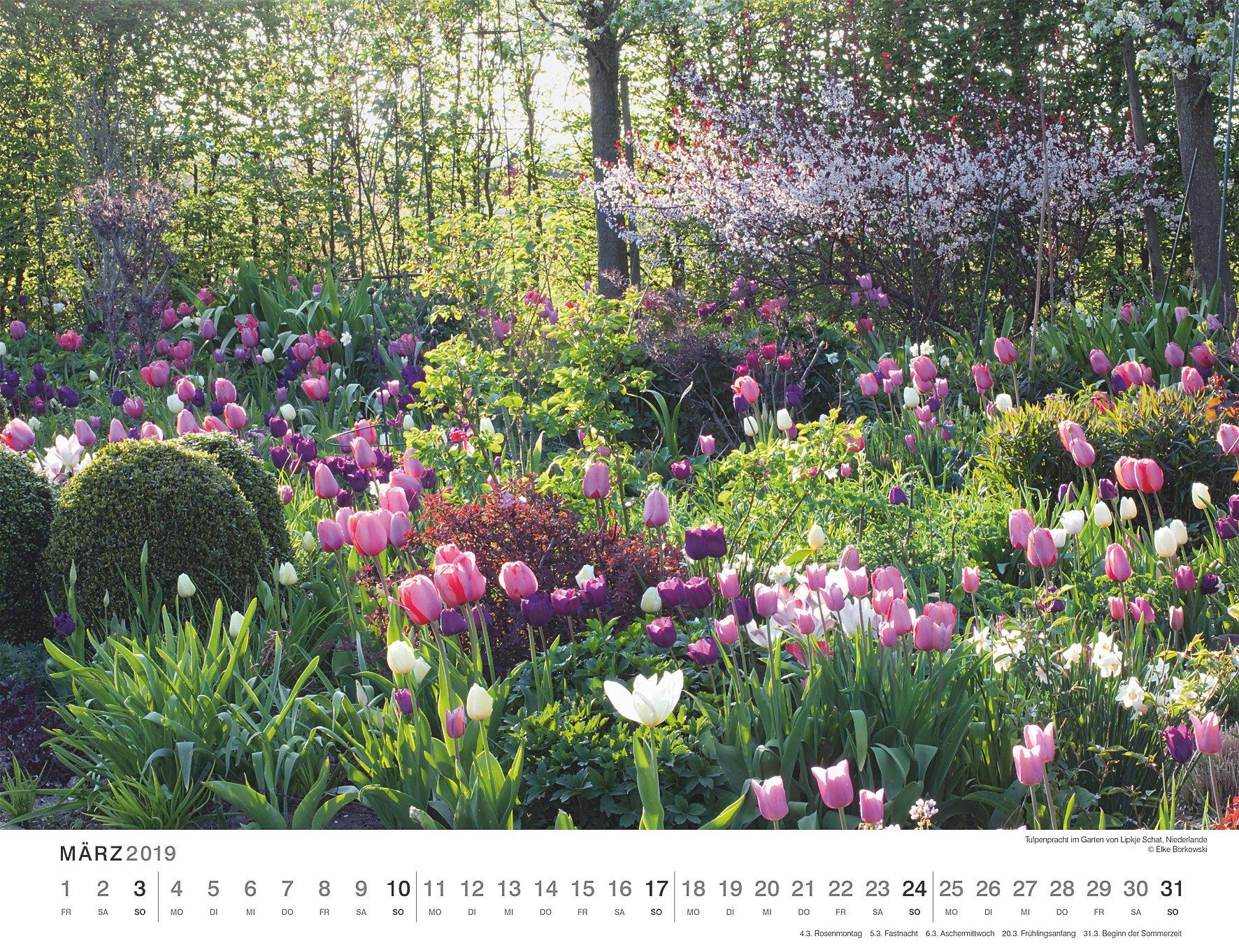Schöne Gärten 2019 Kalender Günstig Bei Weltbildde Bestellen