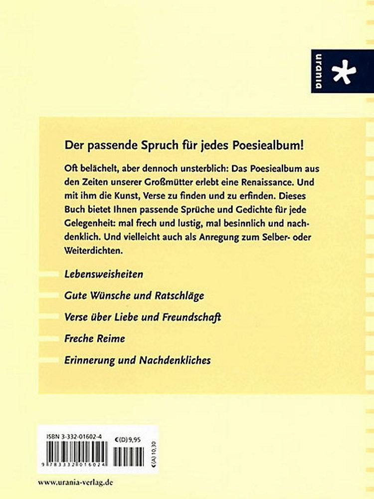 Schöne Neue Verse Fürs Poesiealbum Buch Bei Weltbildch