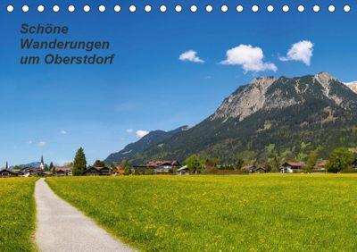 Schöne Wanderungen um Oberstdorf (Tischkalender 2019 DIN A5 quer), Walter G. Allgöwer