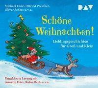 Schöne Weihnachten! Lieblingsgeschichten für Gross und Klein, 3 Audio-CDs, Michael Ende, Otfried Preussler, Oliver Scherz