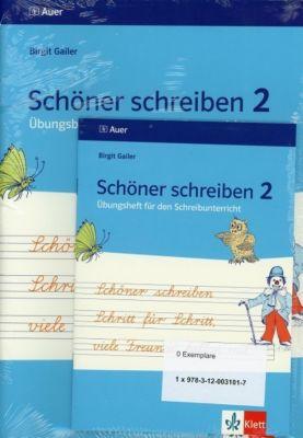 Schöner schreiben Schritt für Schritt, und viele Freunde helfen mit2. Jahrgangsstufe, Übungsblätter und Übungsheft für den Schreibunterricht, Birgit Gailer