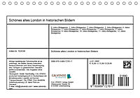 Schönes altes London in historischen Bildern (Tischkalender 2019 DIN A5 quer) - Produktdetailbild 13