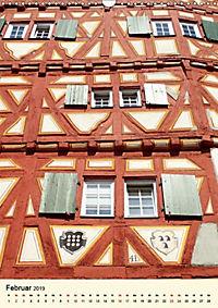 Schönes Fachwerk in Ladenburg am Neckar (Wandkalender 2019 DIN A3 hoch) - Produktdetailbild 6