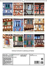 Schönes Fachwerk in Ladenburg am Neckar (Wandkalender 2019 DIN A3 hoch) - Produktdetailbild 10