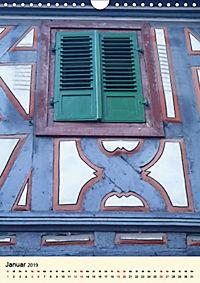 Schönes Fachwerk in Ladenburg am Neckar (Wandkalender 2019 DIN A4 hoch) - Produktdetailbild 1