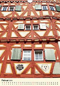 Schönes Fachwerk in Ladenburg am Neckar (Wandkalender 2019 DIN A4 hoch) - Produktdetailbild 2