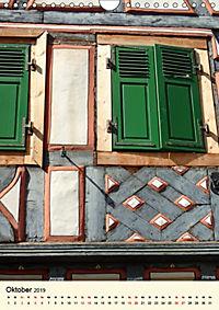 Schönes Fachwerk in Ladenburg am Neckar (Wandkalender 2019 DIN A4 hoch) - Produktdetailbild 10