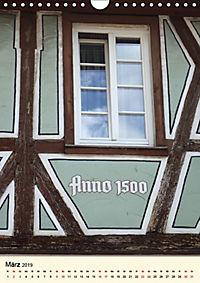 Schönes Fachwerk in Ladenburg am Neckar (Wandkalender 2019 DIN A4 hoch) - Produktdetailbild 3