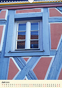 Schönes Fachwerk in Ladenburg am Neckar (Wandkalender 2019 DIN A4 hoch) - Produktdetailbild 6