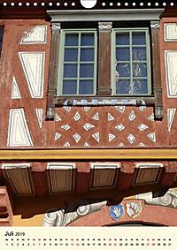 Schönes Fachwerk in Ladenburg am Neckar (Wandkalender 2019 DIN A4 hoch) - Produktdetailbild 7
