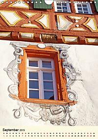 Schönes Fachwerk in Ladenburg am Neckar (Wandkalender 2019 DIN A4 hoch) - Produktdetailbild 9