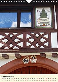 Schönes Fachwerk in Ladenburg am Neckar (Wandkalender 2019 DIN A4 hoch) - Produktdetailbild 12