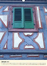 Schönes Fachwerk in Ladenburg am Neckar (Wandkalender 2019 DIN A3 hoch) - Produktdetailbild 1