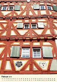 Schönes Fachwerk in Ladenburg am Neckar (Wandkalender 2019 DIN A3 hoch) - Produktdetailbild 2