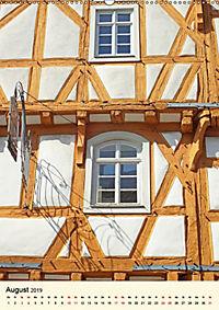 Schönes Fachwerk in Ladenburg am Neckar (Wandkalender 2019 DIN A2 hoch) - Produktdetailbild 8