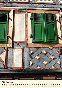 Schönes Fachwerk in Ladenburg am Neckar (Wandkalender 2019 DIN A2 hoch) - Produktdetailbild 10