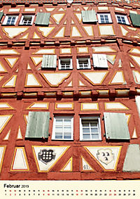 Schönes Fachwerk in Ladenburg am Neckar (Wandkalender 2019 DIN A2 hoch) - Produktdetailbild 2