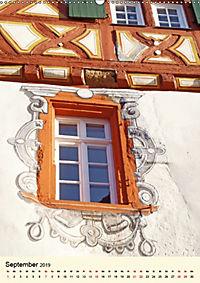 Schönes Fachwerk in Ladenburg am Neckar (Wandkalender 2019 DIN A2 hoch) - Produktdetailbild 9