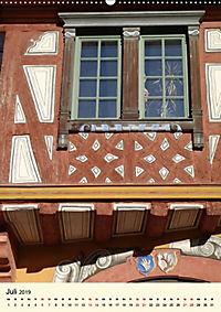 Schönes Fachwerk in Ladenburg am Neckar (Wandkalender 2019 DIN A2 hoch) - Produktdetailbild 7