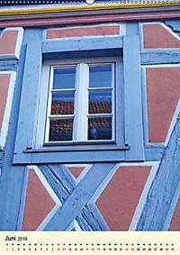 Schönes Fachwerk in Ladenburg am Neckar (Wandkalender 2019 DIN A2 hoch) - Produktdetailbild 6