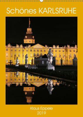 Schönes Karlsruhe (Wandkalender 2019 DIN A2 hoch), Klaus Eppele