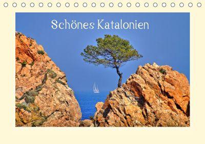 Schönes Katalonien (Tischkalender 2019 DIN A5 quer), Martina Fornal