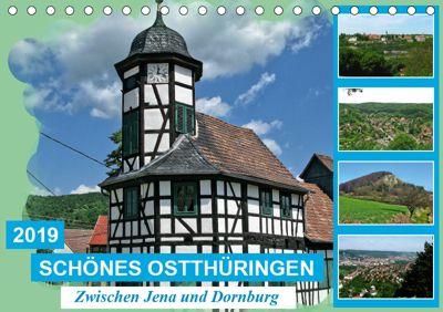 Schönes Ostthüringen (Tischkalender 2019 DIN A5 quer), Gerdhold Müller