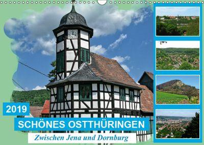 Schönes Ostthüringen (Wandkalender 2019 DIN A3 quer), Gerdhold Müller