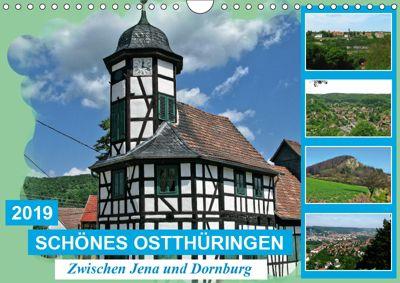 Schönes Ostthüringen (Wandkalender 2019 DIN A4 quer), Gerdhold Müller