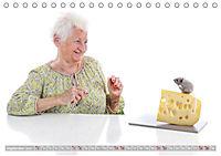 Schönheit im Alter - Auf den Geschmack gekommen (Tischkalender 2019 DIN A5 quer) - Produktdetailbild 12