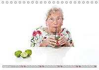Schönheit im Alter - Auf den Geschmack gekommen (Tischkalender 2019 DIN A5 quer) - Produktdetailbild 8