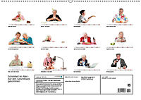 Schönheit im Alter - Auf den Geschmack gekommen (Wandkalender 2019 DIN A2 quer) - Produktdetailbild 13