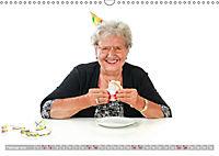 Schönheit im Alter - Auf den Geschmack gekommen (Wandkalender 2019 DIN A3 quer) - Produktdetailbild 2
