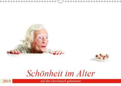 Schönheit im Alter - Auf den Geschmack gekommen (Wandkalender 2019 DIN A3 quer), Andreas Vincke