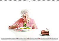 Schönheit im Alter - Auf den Geschmack gekommen (Wandkalender 2019 DIN A3 quer) - Produktdetailbild 1