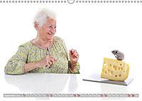 Schönheit im Alter - Auf den Geschmack gekommen (Wandkalender 2019 DIN A3 quer) - Produktdetailbild 9