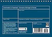 Schönheiten im Federkleid - Heimische Wildvögel im Portrait (Tischkalender 2019 DIN A5 quer) - Produktdetailbild 13