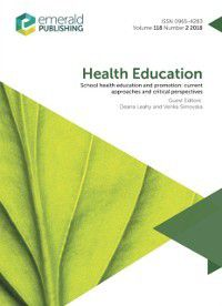 School Health Education and Promotion