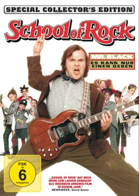 School of Rock, Joan Cusack,Jordan-Claire Green Jack Black