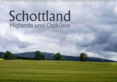 Schottland Highlands und Ostküste (Wandkalender 2019 DIN A2 quer), Christiane calmbacher