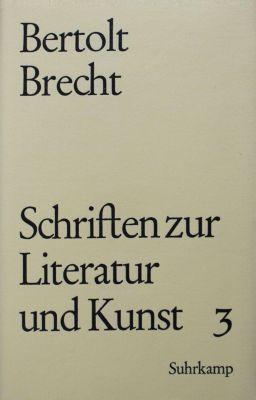 Schriften zur Literatur und Kunst, Geb: .3 1934-1956 - Bertolt Brecht pdf epub