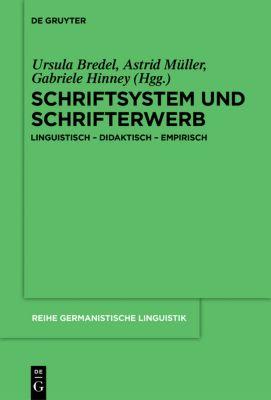 Schriftsystem und Schrifterwerb